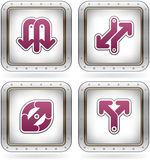 Miscellaneous Icons Royalty Free Stock Images