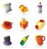 Miscellaneous icons Stock Illustration