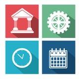 Miscellaneous icons design Royalty Free Stock Photo