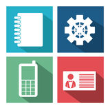 Miscellaneous icons design Royalty Free Stock Images