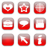 Miscellaneous icons set Royalty Free Stock Photography