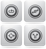 Miscellaneous Platinum Icons vector illustration