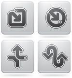 Miscellaneous Platinum Icons Stock Photos