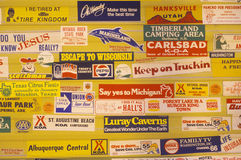 Miscellaneous signs Stock Image