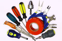 Miscellaneous tools Royalty Free Stock Photos