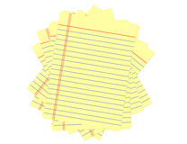 Miscellaneous yellow pages. royalty free stock images