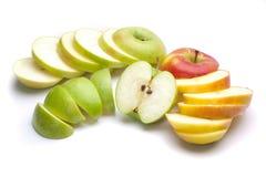 Mischäpfel Lizenzfreies Stockfoto