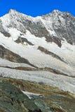 Mischabel massif, Saas-Fee, Valais, Switzerland Stock Photos