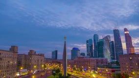 Mischen Sie verschiedene Arten von verschiedenen Videoarten von Moskau stock footage