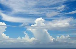 Mischen von Wolken Stockfotografie