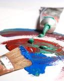 Mischende Farben Lizenzfreie Stockbilder