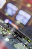 Mischende Videoplatte lizenzfreie stockfotografie