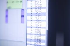 Mischender Schreibtisch des Tonstudios Lizenzfreies Stockbild