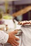 Mischfrüchte und Berry Galette Rustikales Apple, Pfirsich und Blaubeere lizenzfreie stockfotografie