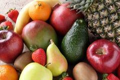 Mischfruchterdbeere-Apfelbirnen lizenzfreie stockbilder