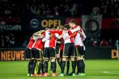 Mischia di Feyenoord Fotografia Stock Libera da Diritti