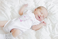 Mischievous baby Royalty Free Stock Photography