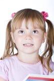 Mischievous girl Stock Image