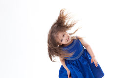 Mischievous little girl Royalty Free Stock Images
