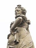 Mischievous woman statue Royalty Free Stock Photo