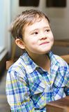 Mischievous Young Boy Royalty Free Stock Photo