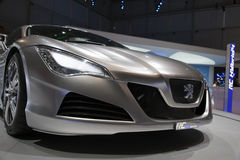 Mischling Peugeot-RC 4 - Genf-Autoausstellung 2009 Stockbild