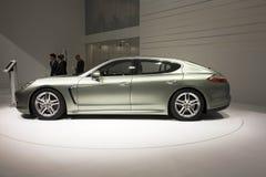 Mischling Porsche-Panamera S lizenzfreies stockfoto