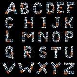Mischt Droge Alphabetes bei Lizenzfreie Stockfotos