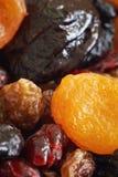 Mischung der getrockneten Früchte stockbilder