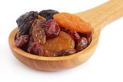 Mischung der getrockneten Früchte stockfotografie