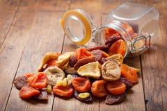 Mischung der getrockneten Früchte lizenzfreie stockfotos