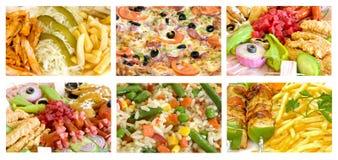 Mischung der Nahrungsmittel stockfoto