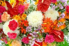 Mischung der verschiedenen Blumen lizenzfreie stockfotografie