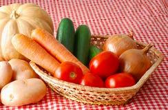 Mischung des autunm Gemüses auf Landwirtmarkt Lizenzfreies Stockbild