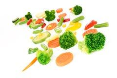 Mischung des Gemüses stockfotos