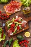 Mischung des Salats lizenzfreie stockfotos