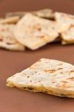 Mischung von den verschiedenen indischen Broten - naan Lizenzfreie Stockfotografie