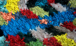Mischung von Farben stockfoto