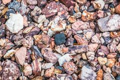 Mischung von Felsen Stockbilder