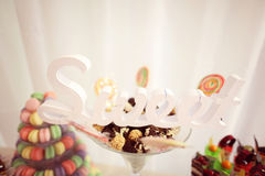 Mischung von Minikuchen Stockfotografie