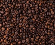 Mischung von verschiedenen Arten von Kaffeebohnen Bereiten Sie für Gebrauch vor Stockbilder