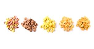 Mischungs-Vielzahl von Frühstückskost aus Getreide VI stockfotografie