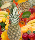 Mischungsfrucht lizenzfreies stockbild