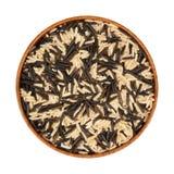 Mischungsreis - wild, schwarzer, weißer Reis Lizenzfreies Stockbild