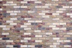 Mischziegelstein-Muster Stockfotografie