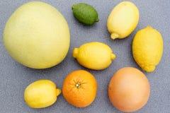 Mischzitrusfrucht Lizenzfreie Stockfotos
