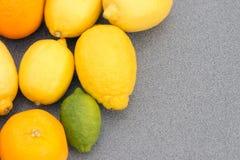 Mischzitrusfrucht Lizenzfreies Stockbild