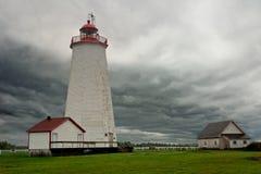 Miscou Lighthouse Royalty Free Stock Photo