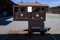 Misdaad en straf bij het fort royalty-vrije stock afbeelding