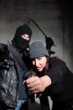 Misdadigers Stock Foto